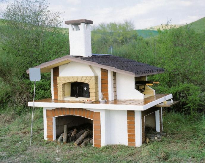 Forno da esterno forno 806 toscana marmi - Rifiniture giardino ...