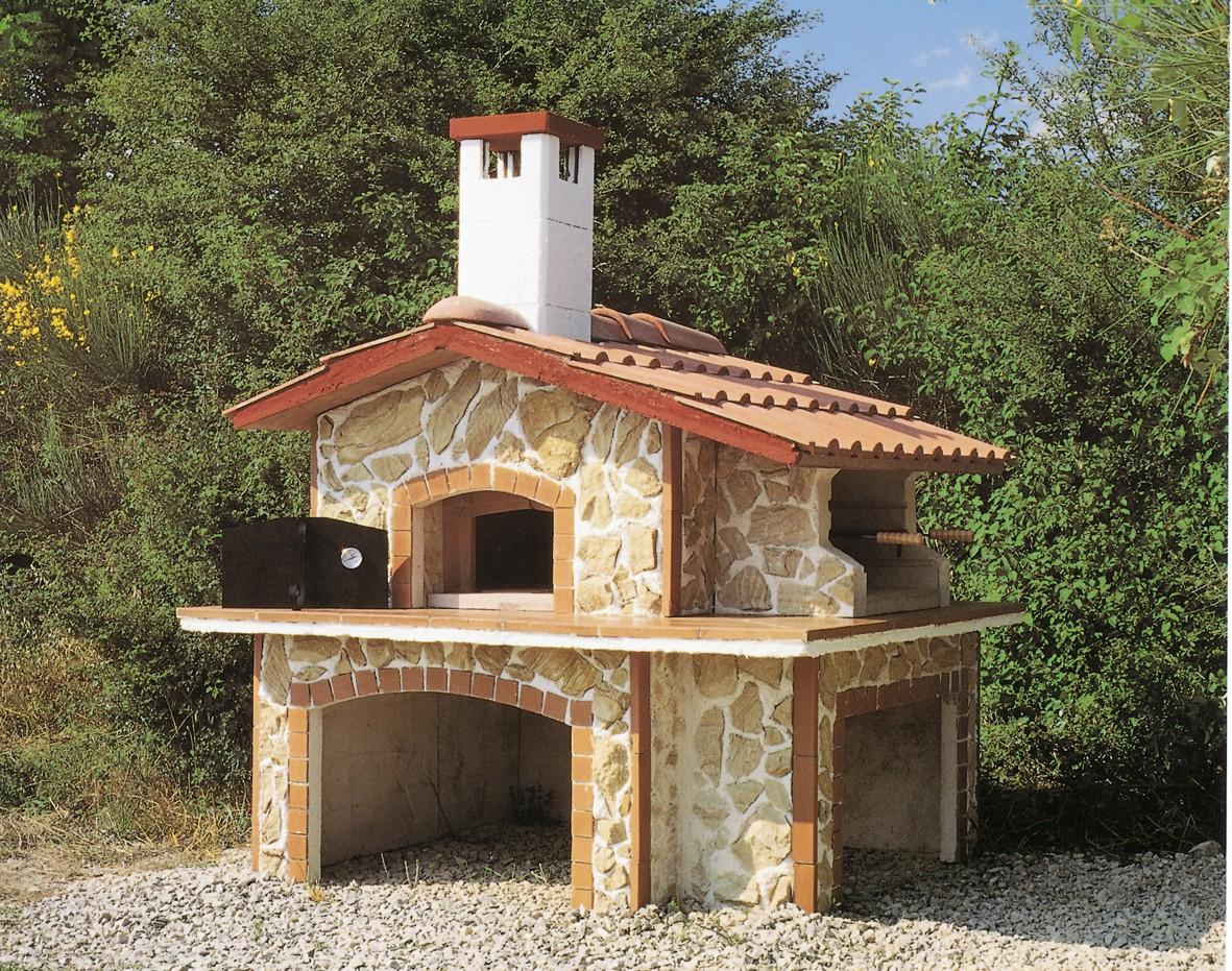 Forni pizza forno 807 toscana marmi for Esterno di colonica industriale