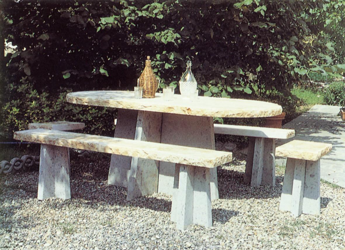 Tavoli Di Marmo Da Giardino : Tavoli esterni tavolo 832 toscana marmi