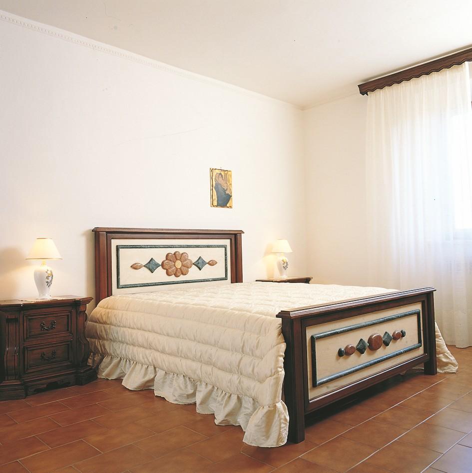 Testata letto in pietra letto 4001 toscana marmi - Letto matrimoniale piccolo ...