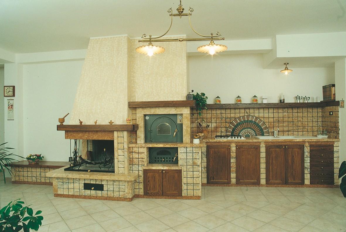 caminetti carfagna cucine rustiche cucina azalea bastia ...