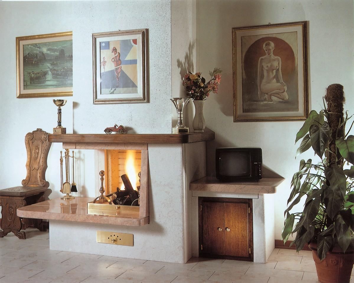 Caminetti prefabbricati caminetto moderno 521n toscana - Caminetti per esterno ...