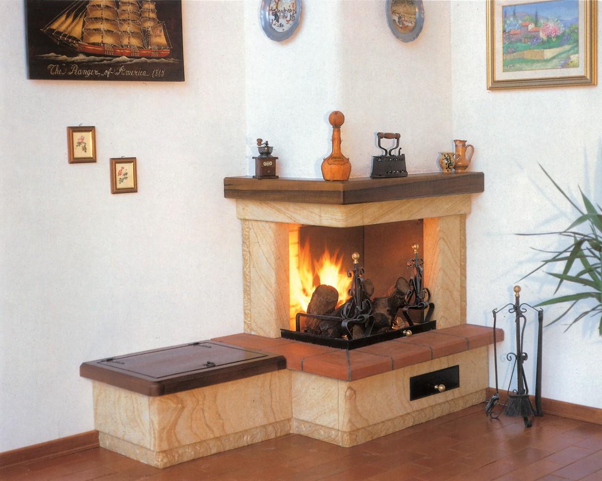 abbastanza Camini pietra | Caminetto moderno 525 | Toscana Marmi KH78