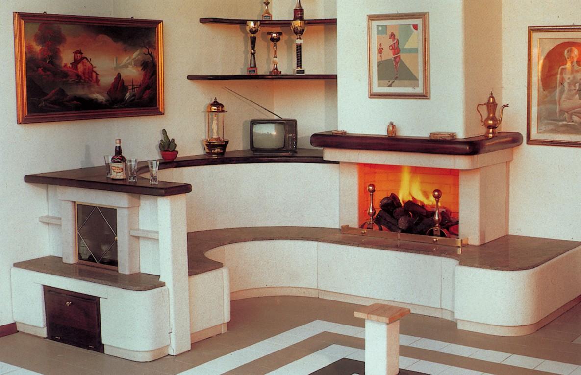 Rivestimenti camini in marmo moderni zx07 pineglen for Affitti cabina michigan con camino