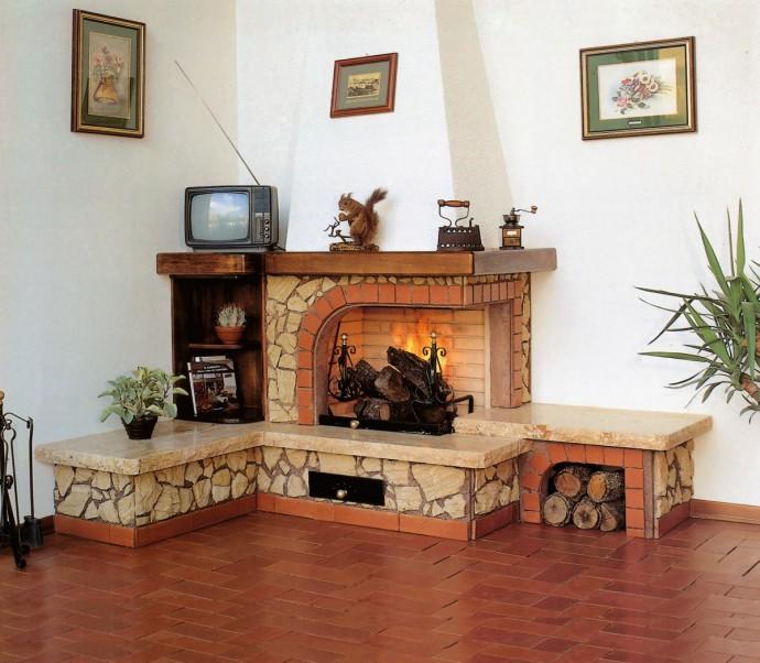 caminetti rivestimenti in marmo : Caminetti design Caminetto rustico 542 Toscana Marmi