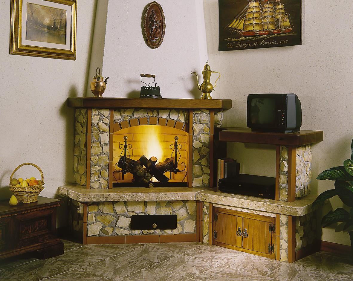 Vendita caminetti toscana caminetto rustico 567 for Casa con un camino