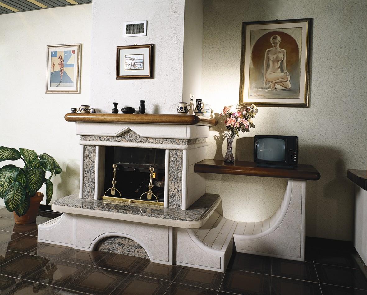 Camino In Pietra Moderno : Camini in pietra caminetto moderno toscana marmi