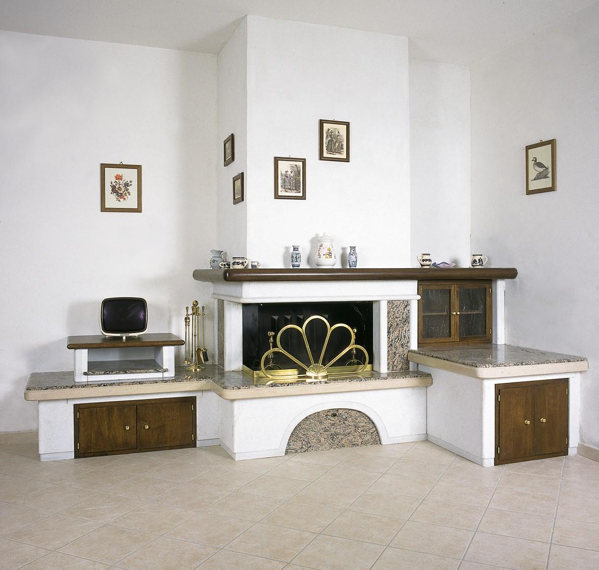 Caminetti da soggiorno caminetto moderno 599 toscana marmi for Soggiorno con camino