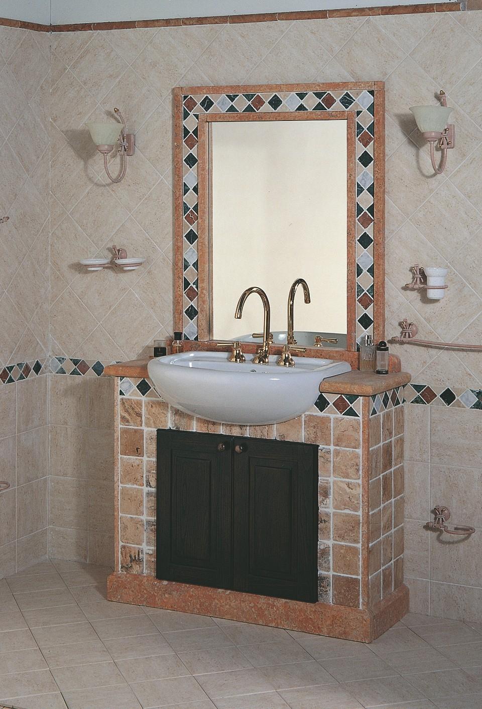 Rivestimenti bagni rustici ig77 regardsdefemmes - Foto di bagno ...