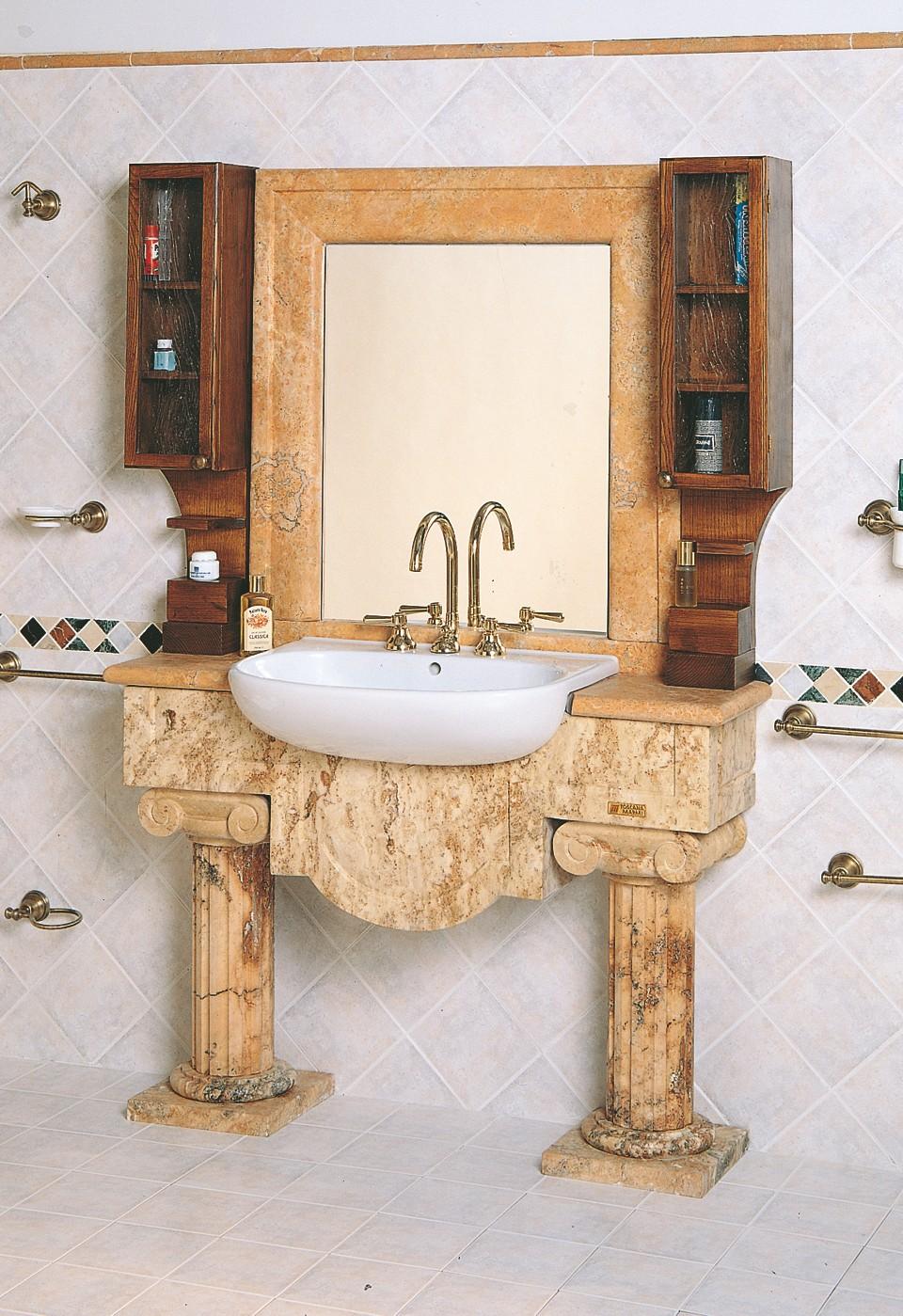 bagni in marmo | bagno 3001 | toscana marmi - Arredo Bagno In Marmo