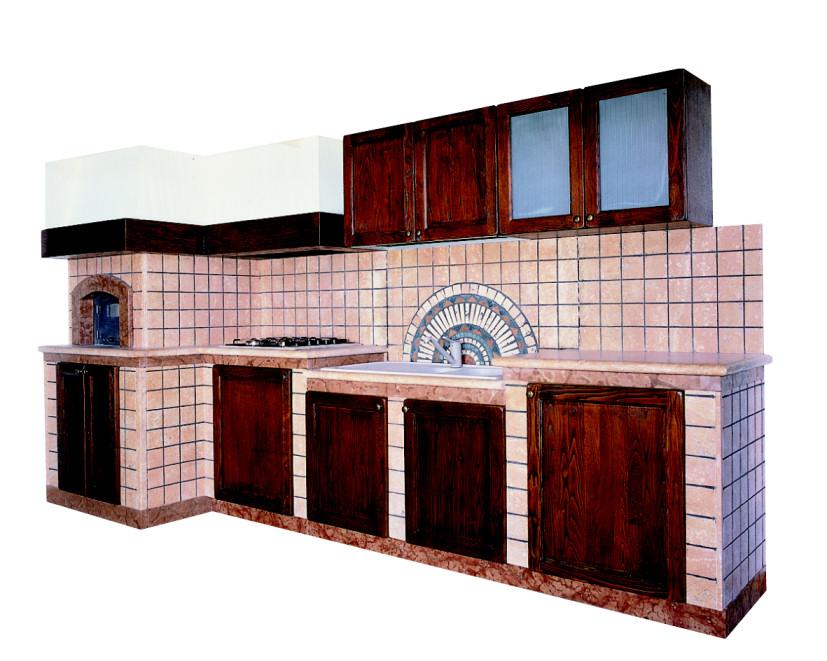 ... anticato e stuccato a tozzetto rifinita in marmo rosso verona e con