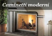 caminetti moderni