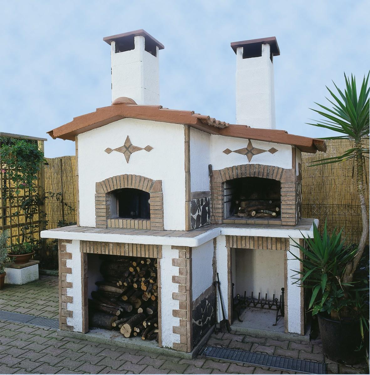 Forno A Legna Con Camino barbecue forno legna | forno 813 | toscana marmi