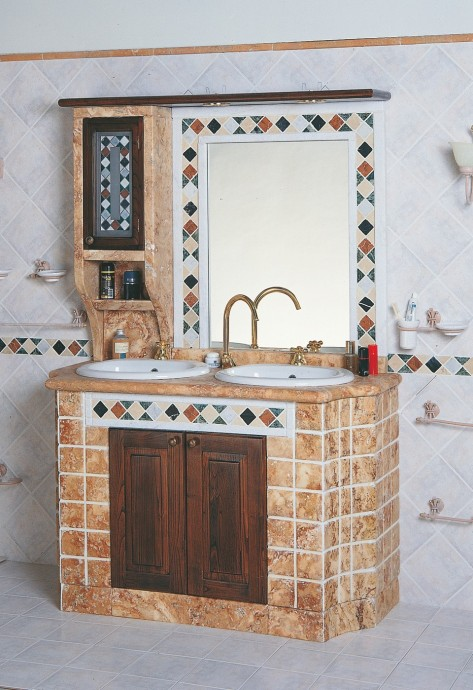 Bagno in muratura  Bagno 3010  Toscana Marmi